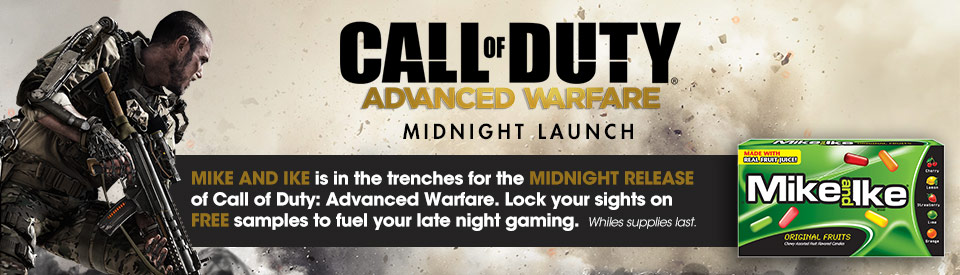Several stores offer midnight Call of Duty: Advanced Warfare release events.