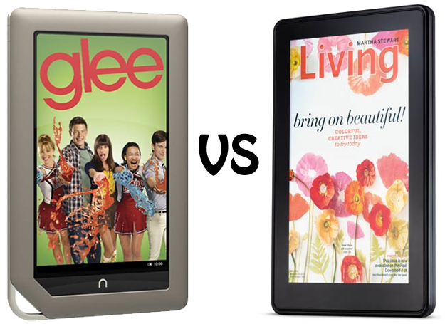 Nook Tablet vs Kindle Fire
