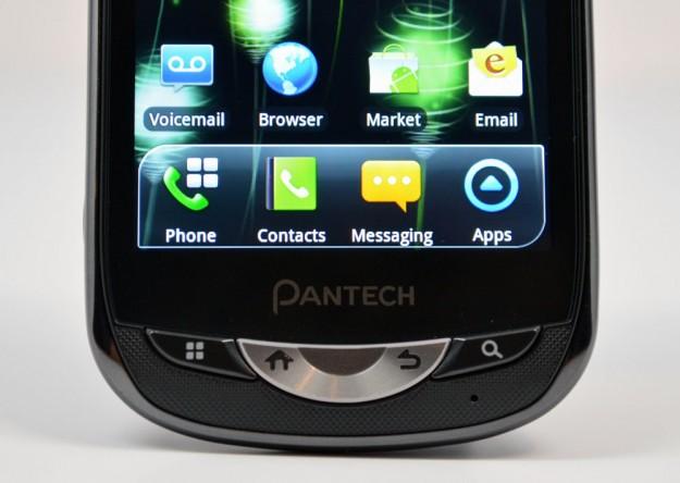 Pantech Breakout physical keys