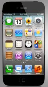 Possible iPhone 5 Mockup1 167x3001