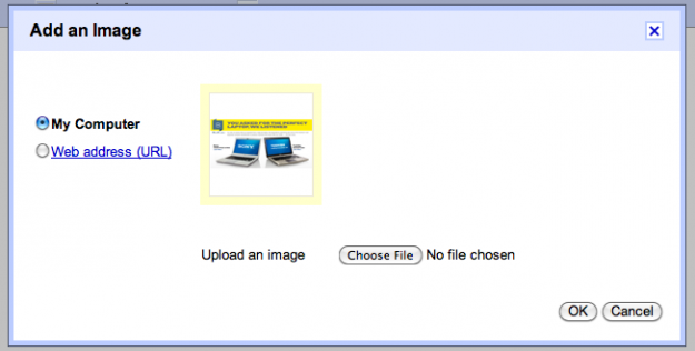 Gmail inserting images