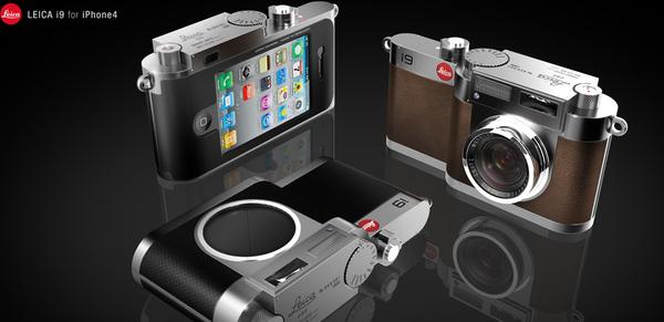 LEICA i9 iPhone Camera Case Concept Design