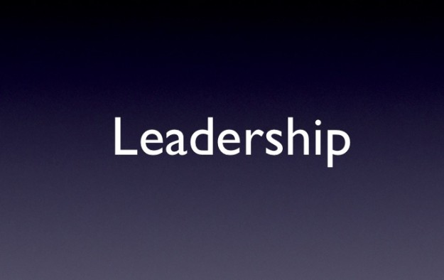 Slide Example Leadership