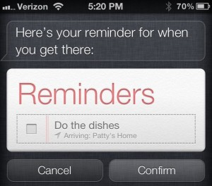 Siri Location - Location of a contact