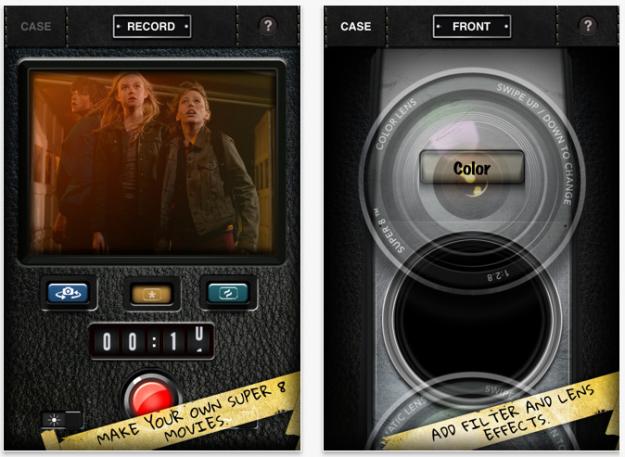 Super 8 App för iPhone och iPad