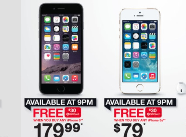 Target iPhone 6 Black Friday Deal