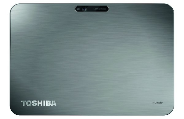 Toshiba AT200 Back Toshiba Excite