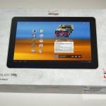 Verizon Wireless Samsung Galaxy Tab 10.1 box