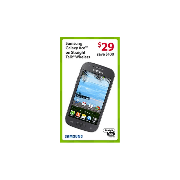 Samsung Galaxy Ace Black Friday Deal at Walmart