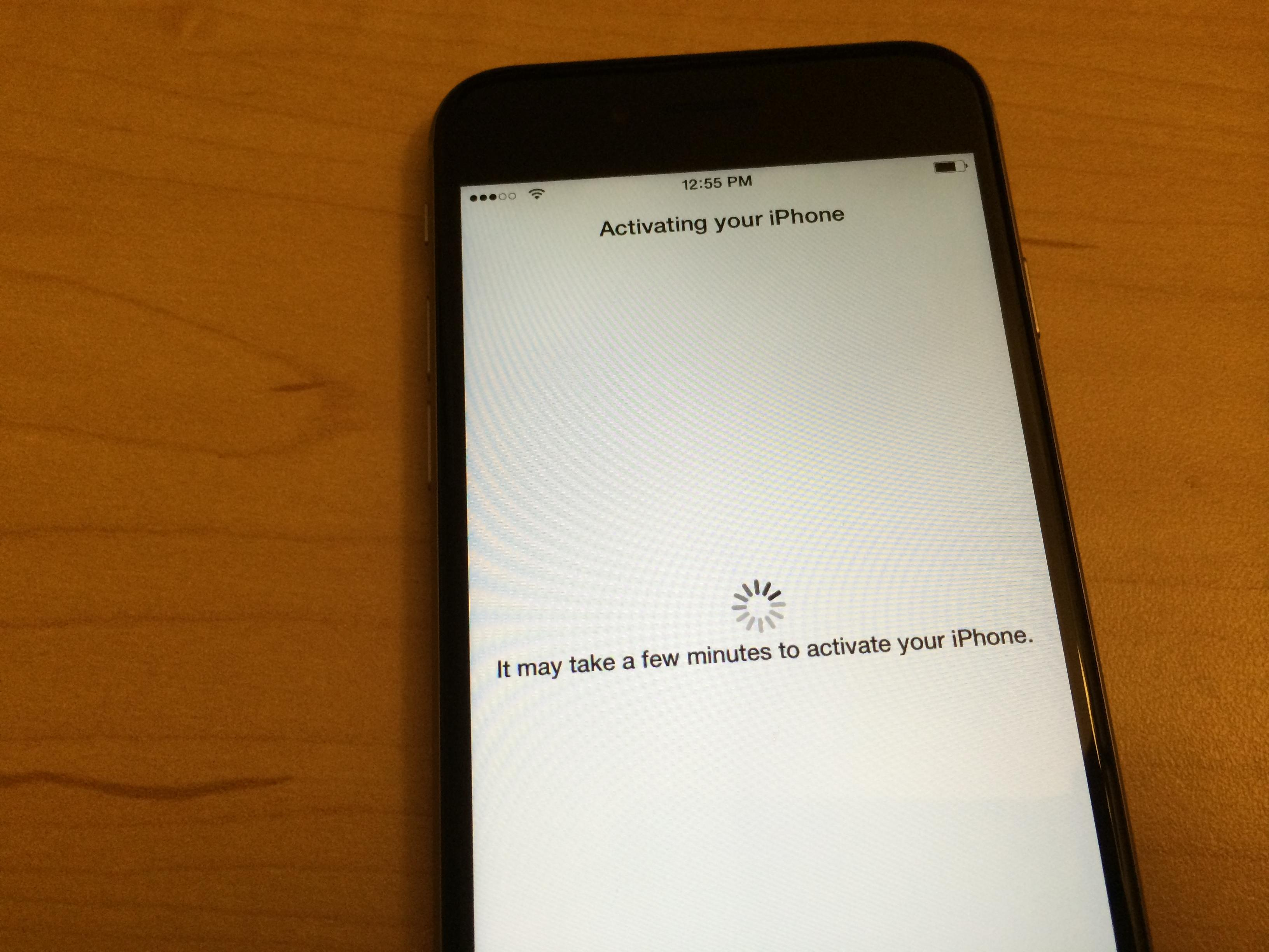 activating new iphone iphone how to activate new iphone 6 1184