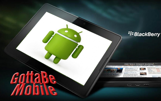 PlayBook and Android