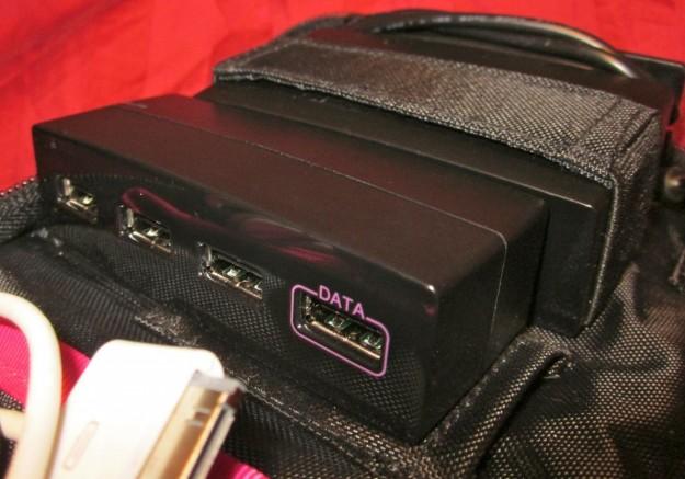 AViiQ Portable Charging Station USB Hub