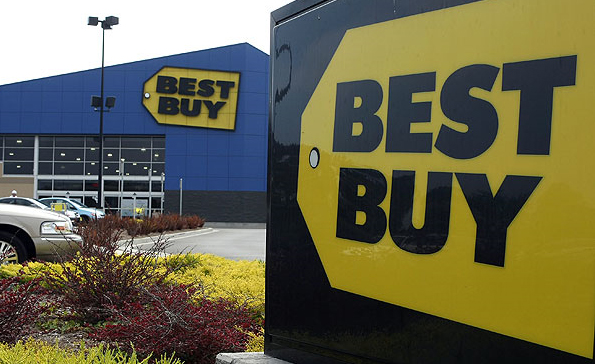 A Best Buy Storefront