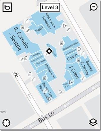 bing mall maps