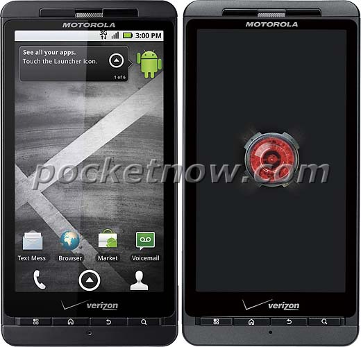 Droid X and Droid X2