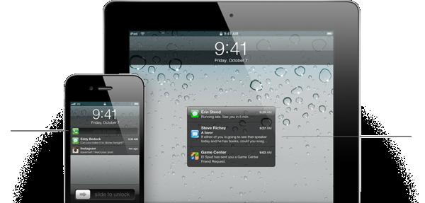 Features notification lockscreen
