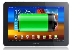 Samsung Galaxy Tab 10.1 Verizon Wireless 4G Battery Life