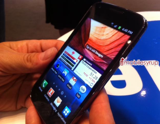 Samsung Galaxy S II Hercules?