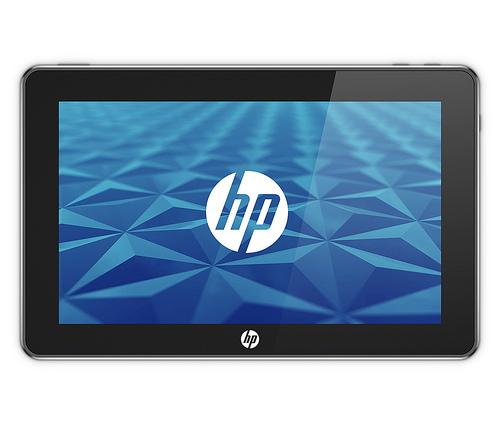 HP Slate 500: nový tablet s Windows 7