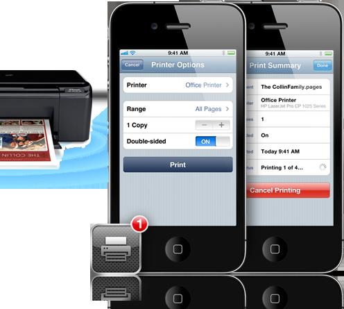 iOS 4.2 Airprint