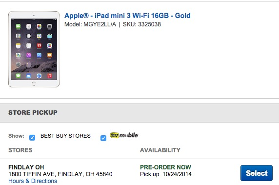 The iPad mini 3 & iPad Air 2 release arrives Friday at Best Buy.