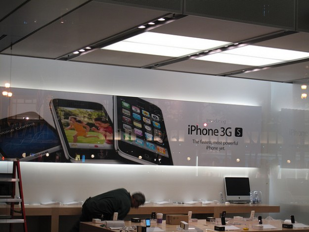 iPhone 3GS store prep