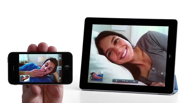 iPhone 4 FaceTime Demo