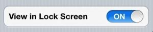 iPhone 4S Better Battery Life - Lock Screen Notifications