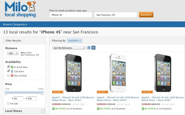 iPhone 4S at Local Stores