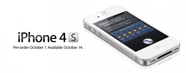 iPhone 4S Preorders Start on October 7th