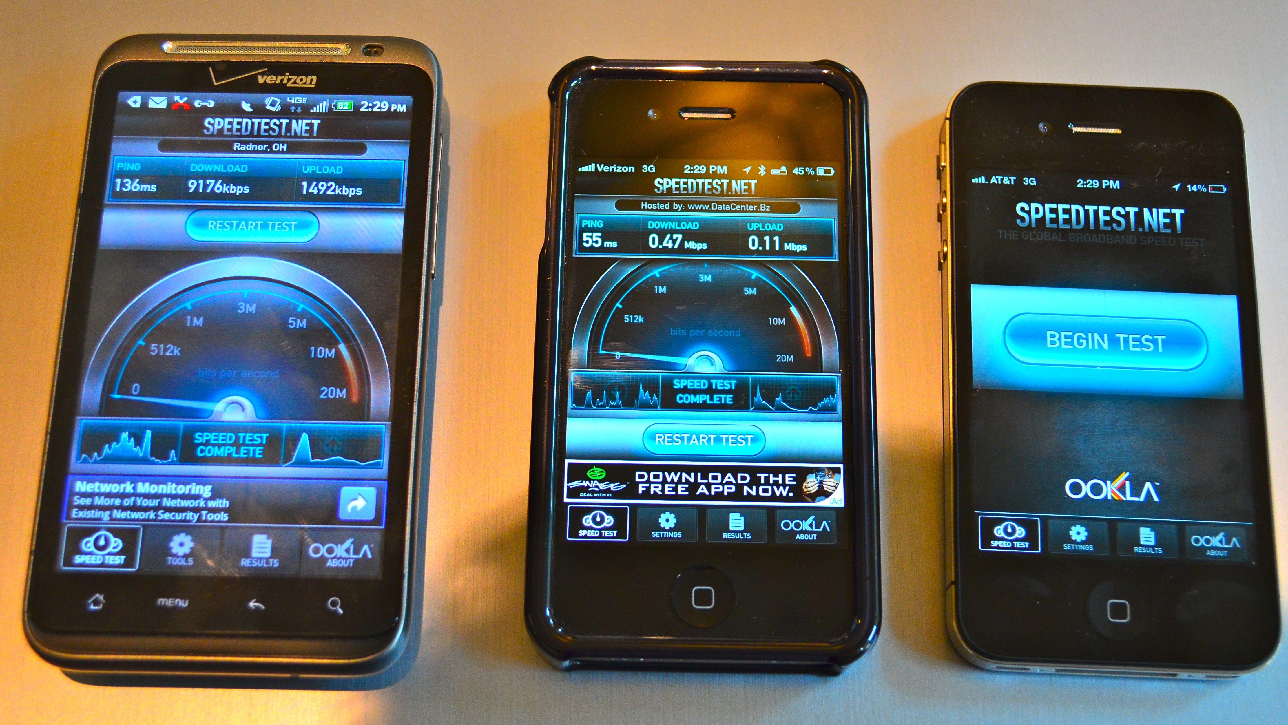 iphone 4s speedtest at t vs verizon vs verizon 4g lte midwest. Black Bedroom Furniture Sets. Home Design Ideas