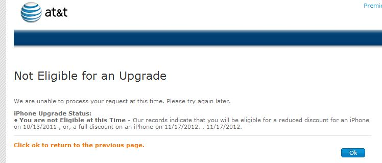 iPhone 5 Release Date on ATT
