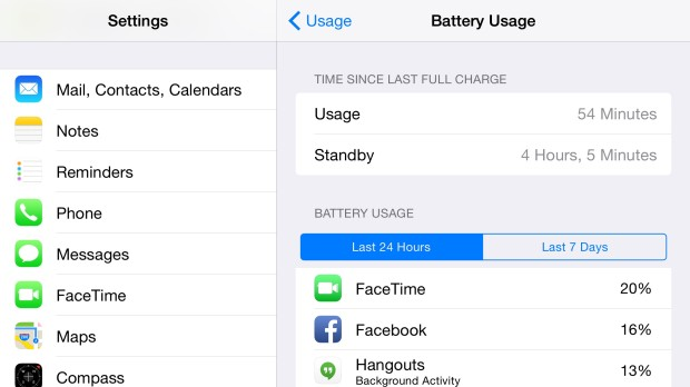 Find apps that use your power to get better iPhone 6 Plus battery life.