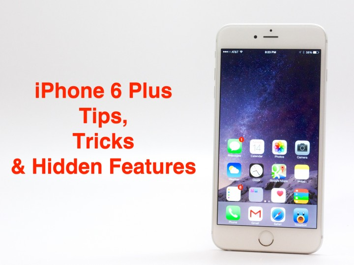Learn how to do more with the iPhone 6 Plus tips and tricks below.