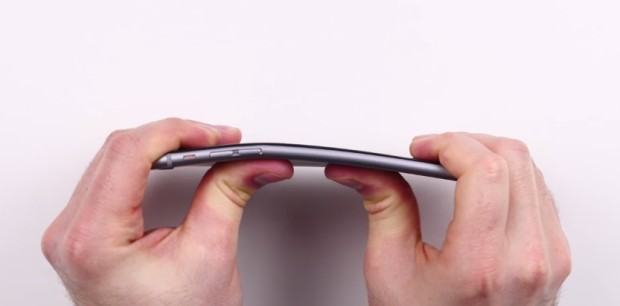 iPhone 6 bending problems