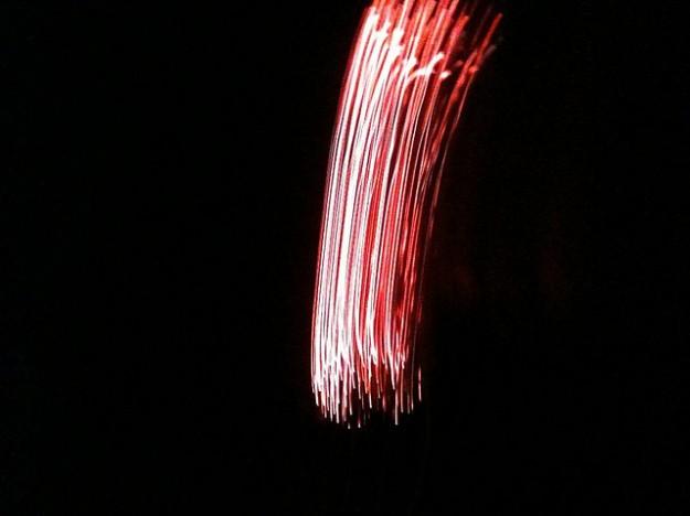 iPhone Firework Photo Shake Effect