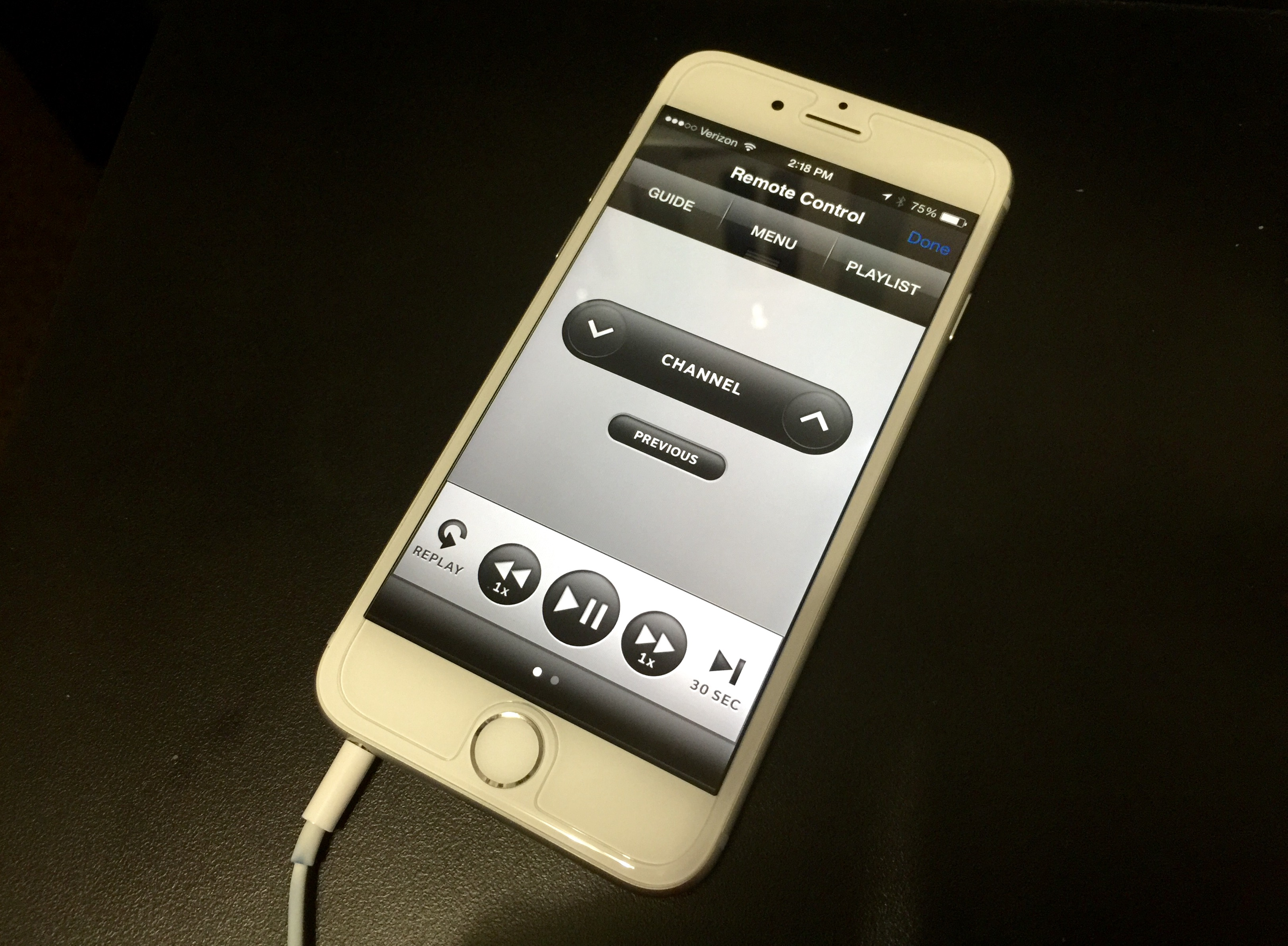 iphone rf remote control app