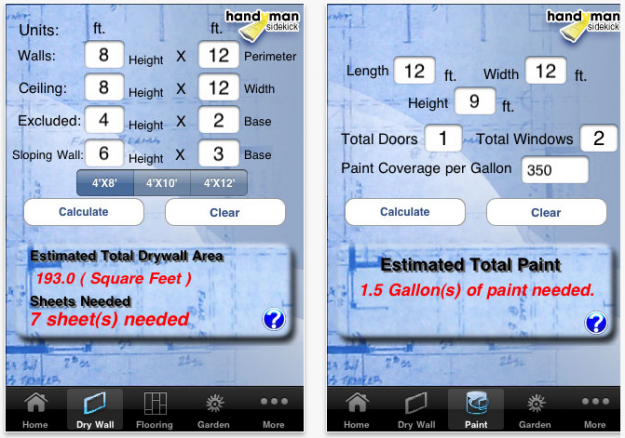 iPhone apps for DIY Planning