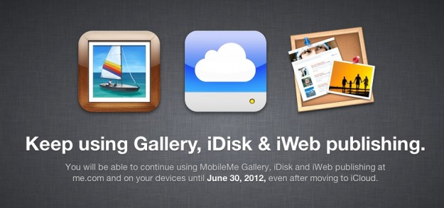 MobileMe users can move to iCloud with free 25GB till June 30, 2012