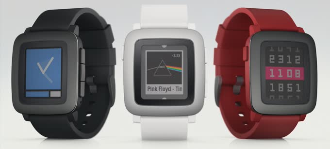 pebble time colors