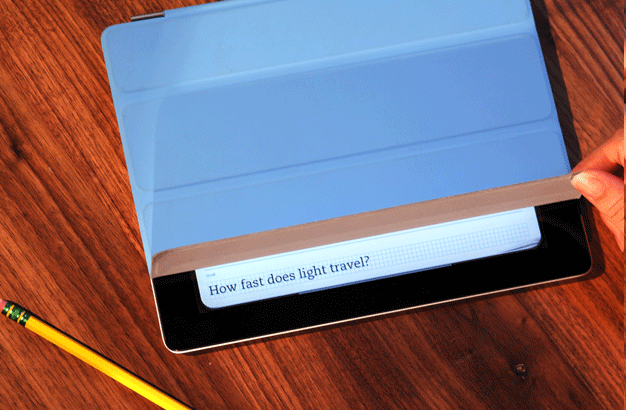 Evernote Peek Turns iPad Into a Study Tool