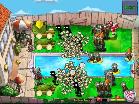 plants vs zombies HD iPad app