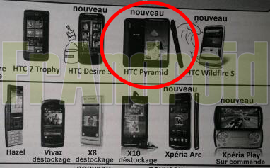 HTC Pyramid ad