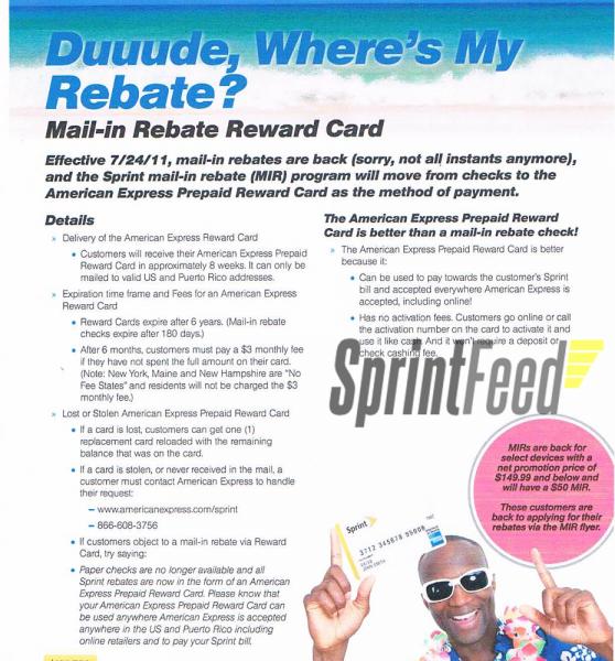 Sprint Rebate