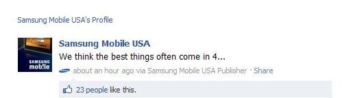 Samsung Galaxy S II Tease