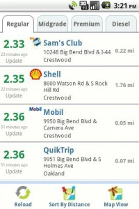 Gas Buddy for Android