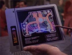Star Trek PADD from Deep Space Nine