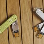 Victorinox Swiss Army Slim and Slim Duo Flash Drives