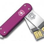 Victorinox Swiss Army Slim Duo Flash Drives