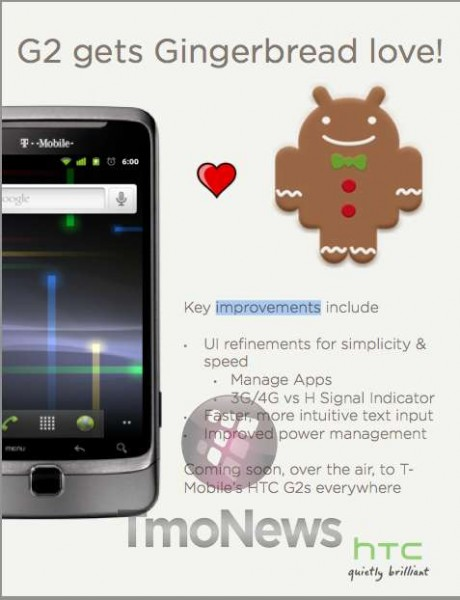 G2 Android 2.3 Update